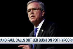 Rand Paul calls out Jeb Bush on pot hypocrisy