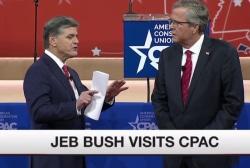 Did Jeb Bush survive CPAC?
