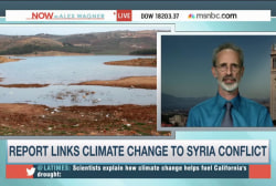 Report links climate change to Syria conflict
