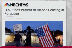 Pattern of bias shown in Ferguson police: DOJ