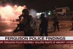 Report: Minority rights violated in Ferguson
