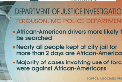 DOJ report finds racial bias in Ferguson
