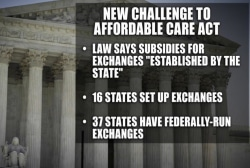 Justices hear new challenge to health care...