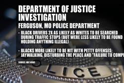 DOJ: Ferguson police violated rights