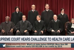 Health care back at the Supreme Court