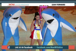 Katy Perry cashes in on 'Left Shark'