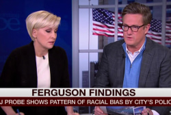 Joe: I'm stunned at the racism of Ferguson PD