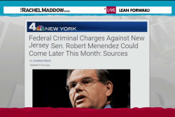 Menendez steadfast amid rumors of charges