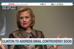 Clinton to address email controversy