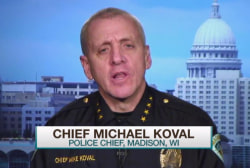 Madison police chief on Robinson shooting