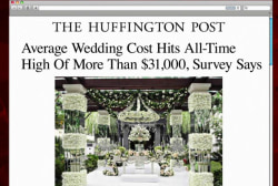 Average wedding costs hit record high