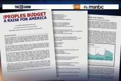 GOP budget is a 'direct jab' at middle class