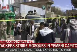 Dozens killed by suicide bombs in Yemen