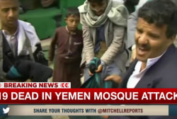 More than 100 dead in Yemen mosque attack