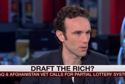 Iraq, Afghan vet calls for drafting the rich