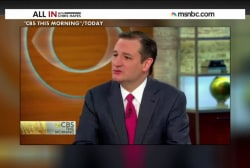 It's true: Ted Cruz is going on Obamacare