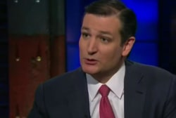 Ted Cruz to enroll in Obamacare