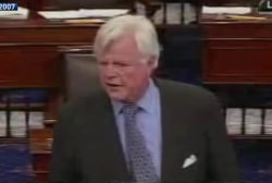 Ted Kennedy remembered at dedication