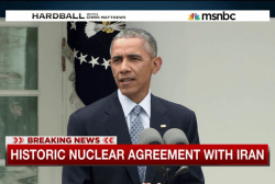'Historic' nuclear deal struck with Iran