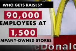 McDonald's raises wages but many will miss...