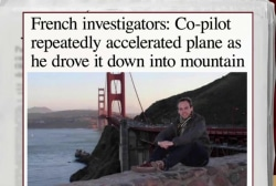 Co-pilot accelerated plane before crash