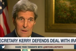 Kerry confident on framework of Iran deal