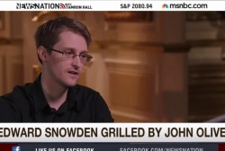 Edward Snowden faces toughest interview yet