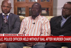Family of man shot by SC officer speaks out