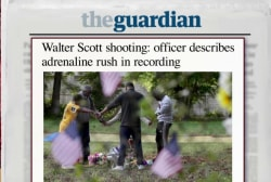 Cop in SC shooting describes adrenaline rush