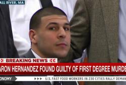Fmr NFL star Aaron Hernandez guilty of murder