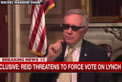 Reid threatens to force vote on Loretta Lynch