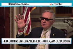Reid on dark money: 'horrible, rotten, awful'