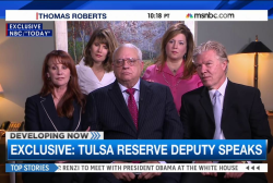 Does Robert Bates' interview help his case?