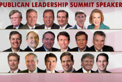 GOP leaders attend summit