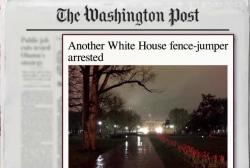 WH fence jumper arrested