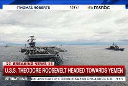 USS Theodore Roosevelt headed towards Yemen
