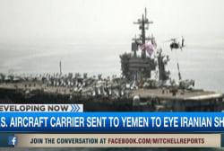 US ships, troops move toward Yemen's coast