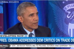 Obama: Elizabeth Warren 'wrong' on TPP