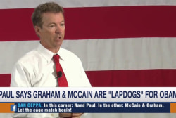 Rand Paul: Graham, McCain 'lapdogs' for Obama
