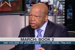 John Lewis writes memoir in comic book form