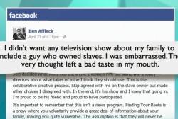 What Ben Affleck's embarrassment teaches us