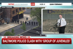 Multiple officers injured in Baltimore...