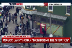 Gov. Hogan monitoring Baltimore situation