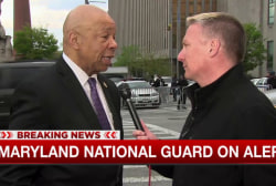 Elijah Cummings on riots: 'It's very, very...