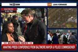 Baltimore resident: 'Enough is enough'