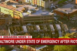 Baltimore under state of emergency