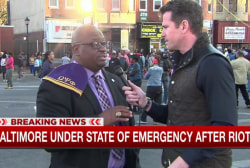 Protesters try to reclaim Baltimore narrative