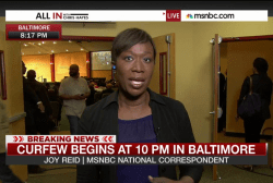 A frustrated community in Baltimore