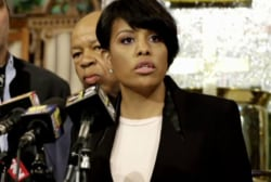 Baltimore mayor faces tough test amid unrest