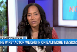 'The Wire' actor weighs in on tensions
